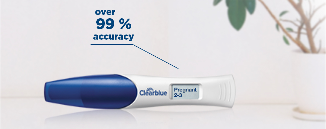 Digital Pregnancy Test with Weeks Indicator: Tells You How Many